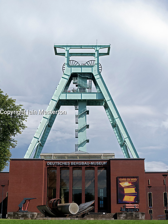 The Deutsches Bergbau-Museum or German Mining Museum in Bochum Germany