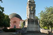Runde Kirche St. Ludwig und Alice-Denkmal, Darmstadt, Hessen, Deutschland | Round Church St. Ludwig and Alice memorial, Darmstadt, Hesse, Germany