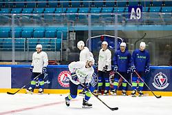 Andrej Hebar at ice hockey practice one day before at IIHF World Championship DIV. I Group A Kazakhstan 2019, on April 28, 2019 in Barys Arena, Nur-Sultan, Kazakhstan. Photo by Matic Klansek Velej / Sportida