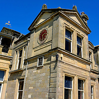 Royal and Ancient Golf Club at St Andrews, Scotland<br />