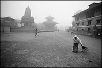 Nepal. Vallée de Kathmandu. Bakthapur. // Nepal. Kathmandu valley. Bakthapur.