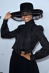 September 5, 2019, New York, NY, USA: September 5, 2019  New York City..Halima Aden attending The Daily Front Row Fashion Media Awards arrivals on September 5, 2019 in New York City. (Credit Image: © Kristin Callahan/Ace Pictures via ZUMA Press)