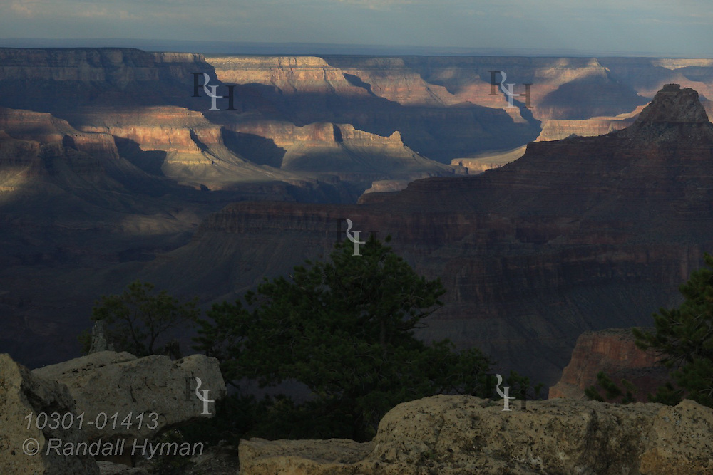 September sunrise and sunset at Cape Royal, North Rim, Grand Canyon National Park, Arizona.