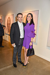 12 December 2019 - Linzi Stoppard and Will Stoppard at a private view of Lethe by Henrik Uldalen at JD Malat Gallery. 30 Davies Street, London.<br /> <br /> Photo by Dominic O'Neill/Desmond O'Neill Features Ltd.  +44(0)1306 731608  www.donfeatures.com