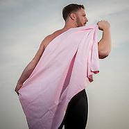 towels and googles