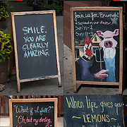 Signs - Outdoor Black Chalkboards