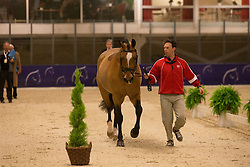 Irwin Jaimey (CAN) - Lindor's Finest <br /> Reem Acra FEI World Cup Goteborg 2013<br /> © Dirk Caremans