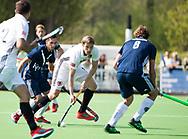 AMSTELVEEN -  Hockey Hoofdklasse heren Pinoke-Amsterdam (3-6). Mirco Pruyser (A'dam)   COPYRIGHT KOEN SUYK