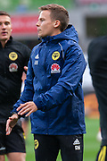 MELBOURNE, VIC - NOVEMBER 09: Wellington Phoenix head of football conditioning Aidan Wivell during warm up at the Hyundai A-League Round 4 soccer match between Melbourne City FC and Wellington Phoenix on November 09, 2018 at AAMI Park in Melbourne, Australia. (Photo by Speed Media/Icon Sportswire)
