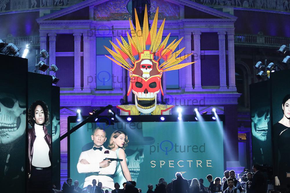 Bond: Spectre - World Premiere & Royal Film Performance, Royal Albert Hall, London UK, 26 October 2015, Photo by Richard Goldschmidt