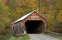 Cilley Covered Bridge, Turnbridge, Vermont