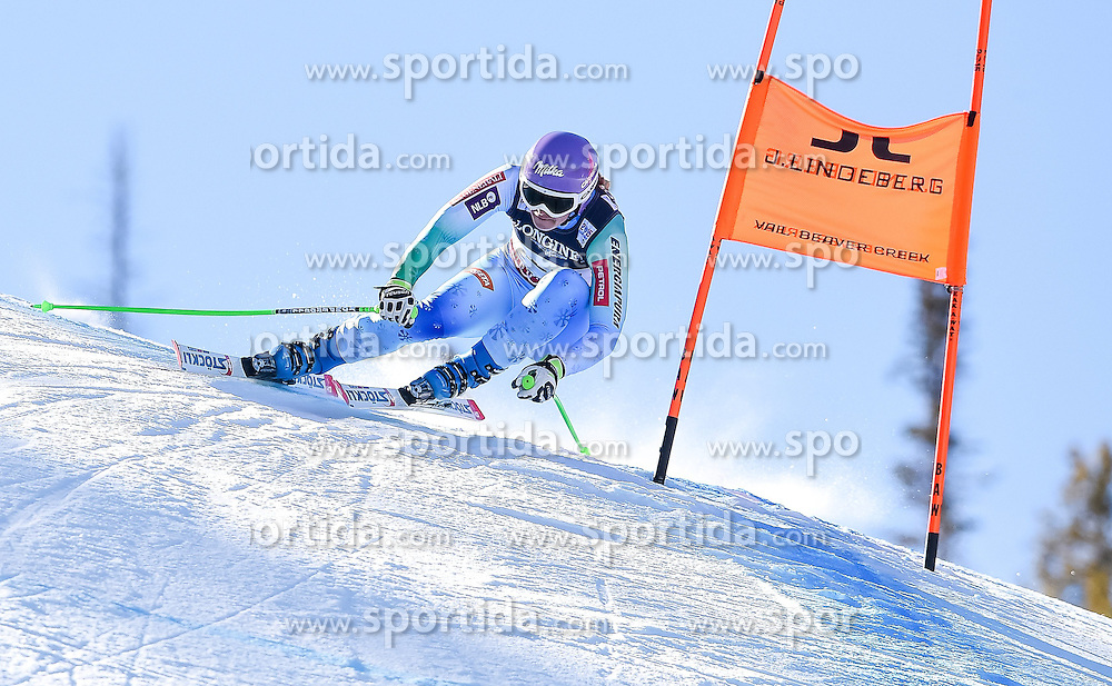 09.02.2015, Raptor Course, Beaver Creek, USA, FIS Weltmeisterschaften Ski Alpin, Vail Beaver Creek 2015, Damen, Kombination, Abfahrt, im Bild Tina Maze (SLO) // Tina Maze of Slovenia in action during the ladie's Downhill for the Combined of FIS Ski World Championships 2015 at the Raptor Course in Beaver Creek, United States on 2015/02/09. EXPA Pictures © 2015, PhotoCredit: EXPA/ Jonas Ericson