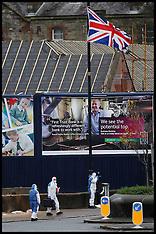NOV 17 2014 Republican bomb attack in North Belfast