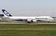 Nippon Cargo Airlines (NCA), Boeing 747-8F
