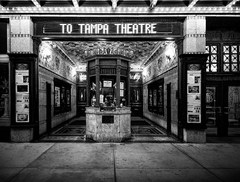 Tampa Theatre Marquee