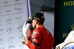 July 29, 2018 - Budapest, Hungary - Motorsports: FIA Formula One World Championship 2018, Grand Prix of Hungary, .#5 Sebastian Vettel (GER, Scuderia Ferrari) (Credit Image: © Hoch Zwei via ZUMA Wire)