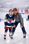 Owen Nei hockey practice at Highland Park Ice Arena in St. Paul, Wisconsin, Sunday, Nov. 3, 2019.