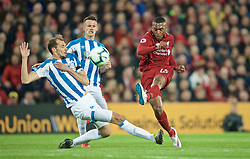 LIVERPOOL, ENGLAND - Friday, April 26, 2019: Liverpool's Daniel Sturridge during the FA Premier League match between Liverpool FC and Huddersfield Town AFC at Anfield. (Pic by David Rawcliffe/Propaganda)