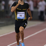 Roma 31/05/2018 Stadio Olimpico<br /> Diamond League : Golden Gala Pietro Mennea<br /> 400 metri Davide Re