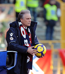 21.02.2010, Stadio Dall Ara, Bologna, ITA, Serie A, Bologna vs Juventus Turin, im Bild Colomba, Trainer Bologna, EXPA Pictures © 2010 for Austria Croatia and Germany only, Photographer EXPA / Inside Foto / Zangirolami / for Slovenia SPORTIDA PHOTO AGENCY.