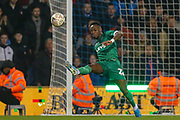 Sheffield Wednesday defender Moses Odubajo (22) clears the ball off his line during The FA Cup match between Queens Park Rangers and Sheffield Wednesday at the Kiyan Prince Foundation Stadium, London, England on 24 January 2020.