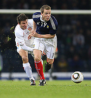 Scotland vs Czech Republic<br /> Tennents International Challenge Match<br /> Wednesday 3 March 2010 <br /> Hampden.<br /> <br /> Michal Papadopulos and Christophe Berra<br /> <br /> Ian MacNicol - Colorsport<br /> <br /> Email: info@colorsport.co.uk<br /> Telephone: 01306 712233<br /> Fax: 01306 712260<br /> <br /> <br /> Registration: registration@colorsport.co.uk<br /> Sales: sales@colorsport.co.uk<br /> Enquiries: ask@colorsport.co.uk