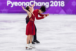 GANGNEUNG, SOUTH KOREA - FEBRUARY 20: Maia Shibutani and Alex Shibutani of USA react during the Figure Skating Ice Dance Free Dance program on day eleven of the PyeongChang 2018 Winter Olympic Games at Gangneung Ice Arena on February 20, 2018 in Gangneung, South Korea. Photo by Ronald Hoogendoorn / Sportida