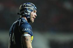 Bristol Rugby Winger Ryan Edwards - Mandatory byline: Dougie Allward/JMP - 22/01/2016 - RUGBY - Ashton Gate -Bristol,England - Bristol Rugby v Ulster Rugby - B&I Cup