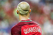 Ricardo Quaresma from Portugal during the match against France. Portugal won the Euro Cup beating in the final home team France at Saint Denis stadium in Paris, after winning on extra-time by 1-0.