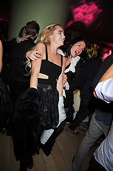 Left to right, SUKI ALICE and AMY MOLYNEUX at the St.Martins Lane Hotel 10th year bash held on 9th September 2009.