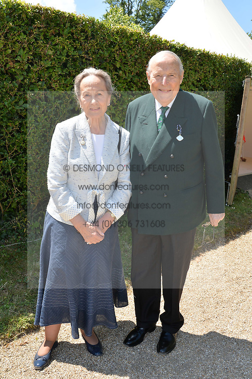 The DUKE & DUCHESS OF RICHMOND & GORDON at the Cartier hosted Style et Lux at The Goodwood Festival of Speed at Goodwood House, West Sussex on 29th June 2014.