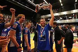 20160424 NED: Play off finale Abiant Lycurgus - Seesing Personeel Orion, Groningen<br />Jay Blankenau (9) of Abiant Lycurgus