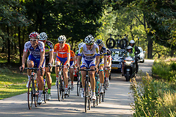 Rheden, The Netherlands - Dutch Food Valley Classic (UCI 1.1) - 23th August 2013 - Leading group after mid course