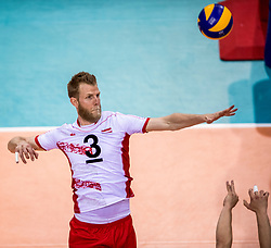 27-05-2017 NED: 2018 FIVB Volleyball World Championship qualification day 4, Apeldoorn<br /> Oostenrijk - Nederland / Peter Wohlfahrtstatter #3