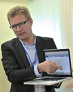 Andrzej Piatek (Sport's Director of Polish Cycling Association) speaks during conference of olympic trainers and coaches at COS (Centralny Osrodek Sportowy) in Spala on May 14, 2014.<br /> <br /> Poland, Spala, May 14, 2014<br /> <br /> Picture also available in RAW (NEF) or TIFF format on special request.<br /> <br /> For editorial use only. Any commercial or promotional use requires permission.<br /> <br /> Mandatory credit:<br /> Photo by &copy; Adam Nurkiewicz / Mediasport