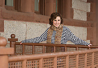 Emily's senior portrait session.  © 2013 Karen Bobotas.  All Rights Reserved.