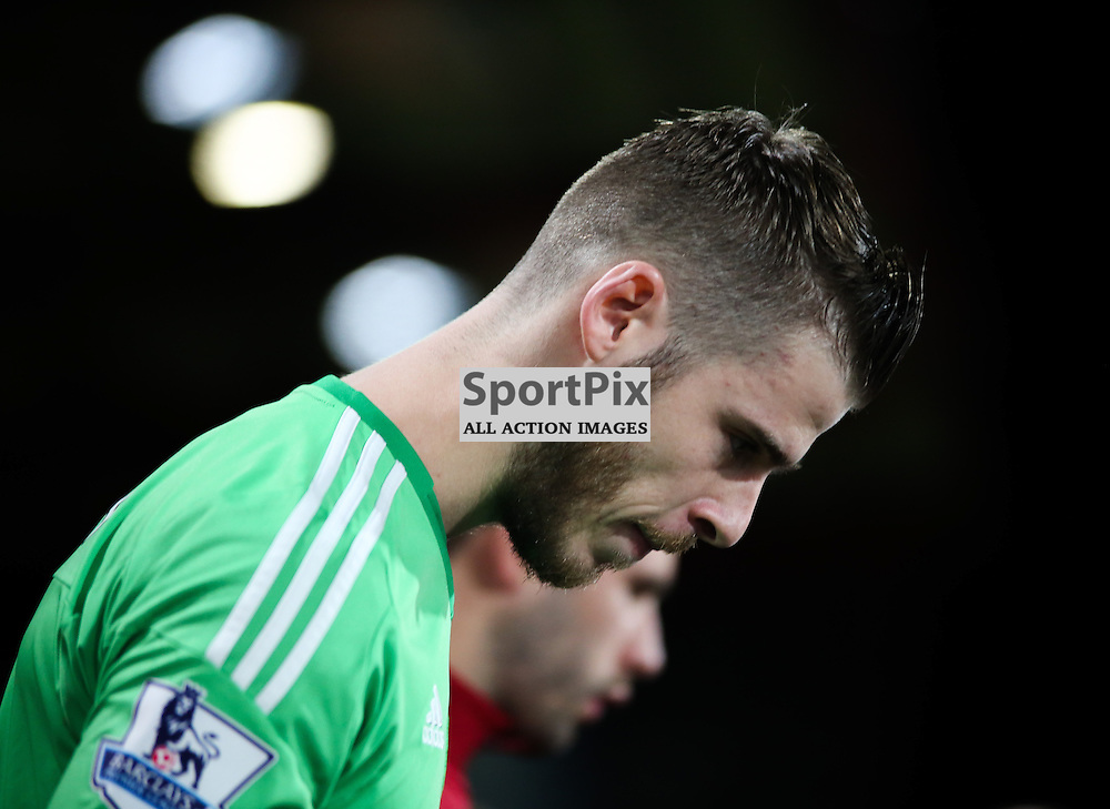 David De Gea of Manchester United During Bournemouth vs Manchester United on Saturday the 12th December 2015.