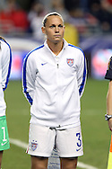 24 October 2014: Christie Rampone (USA) played her 300th international game. The United States Women's National Team played the Mexico Women's National Team at PPL Park in Chester, Pennsylvania in a 2014 CONCACAF Women's Championship semifinal game, which serves as a qualifying tournament for the 2015 FIFA Women's World Cup in Canada. The United States won the game 3-0. With the victory the U.S. advanced to the championship game and qualified for next year's Women's World Cup.