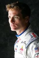 Alex Barron, Red Bull photo shoot, Homestead Miami Speedway, Homestead, FL USA 1/22/2005