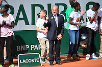 Jean GACHASSIN - 23.05.2015 - Tennis - Journee des enfants - Roland Garros 2015<br /> Photo : David Winter / Icon Sport