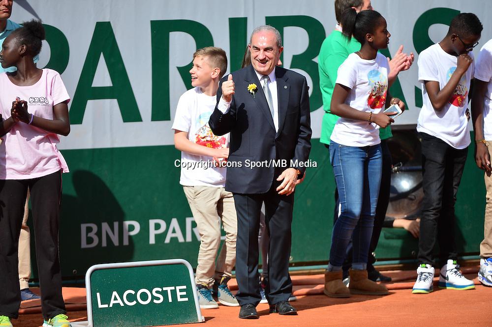 Jean GACHASSIN - 23.05.2015 - Tennis - Journee des enfants - Roland Garros 2015<br /> Photo : David Winter / Icon Sport