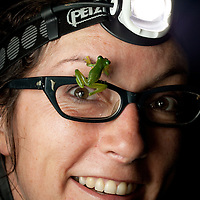 Lucy meet glass frog, glass frog meet Lucy.