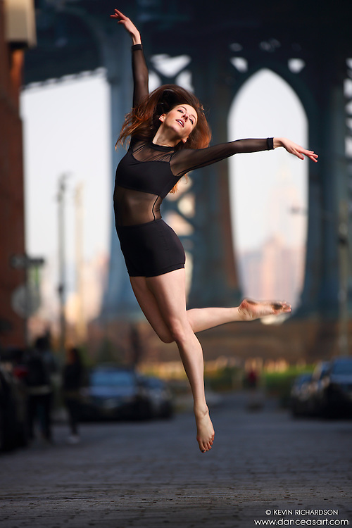 Dance As Art Streets of Dumbo Series with dancer Michel Chord
