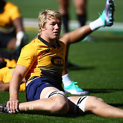 Pieter-Steph du Toit of South Africa during the South African - Springbok Captain's Run at Emirates Airline Park,<br /> Johannesburg .South Africa. 08,06,2018 Photo by (Steve Haag Sports)