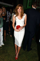 JEMIMA KHAN at the Quintessentially Summer Party held at Debenham House, 8 Addison Road, London W14 on 15th June 2006.<br />