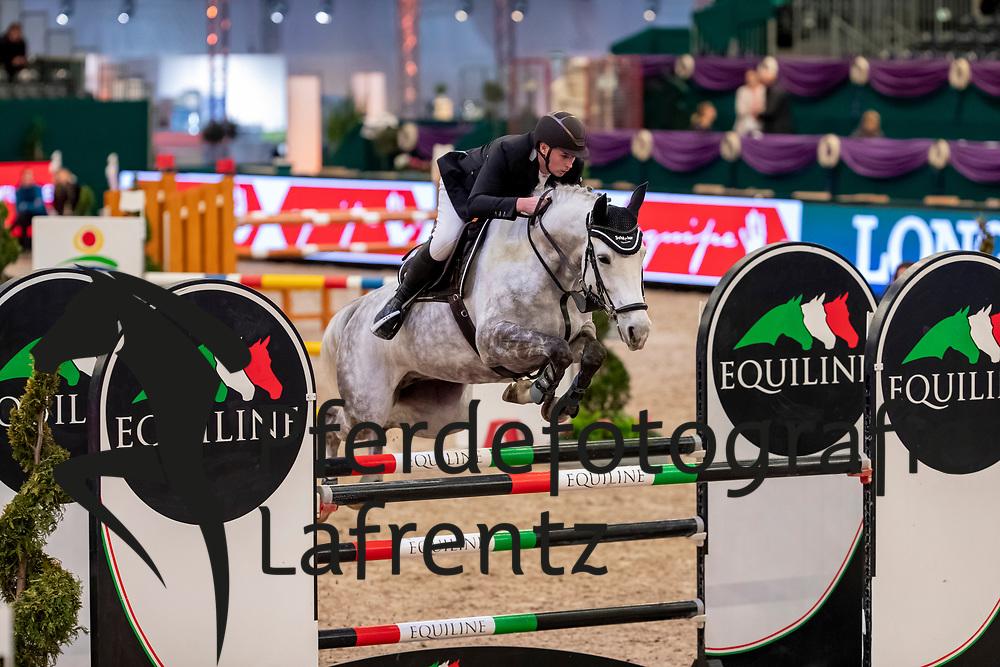 HANISCH Andre (GER), Coreana H<br /> Leipzig - Partner Pferd 2019<br /> SPOOKS-Amateur Trophy<br /> Large Tour<br /> 17. Januar 2019<br /> © www.sportfotos-lafrentz.de/Stefan Lafrentz
