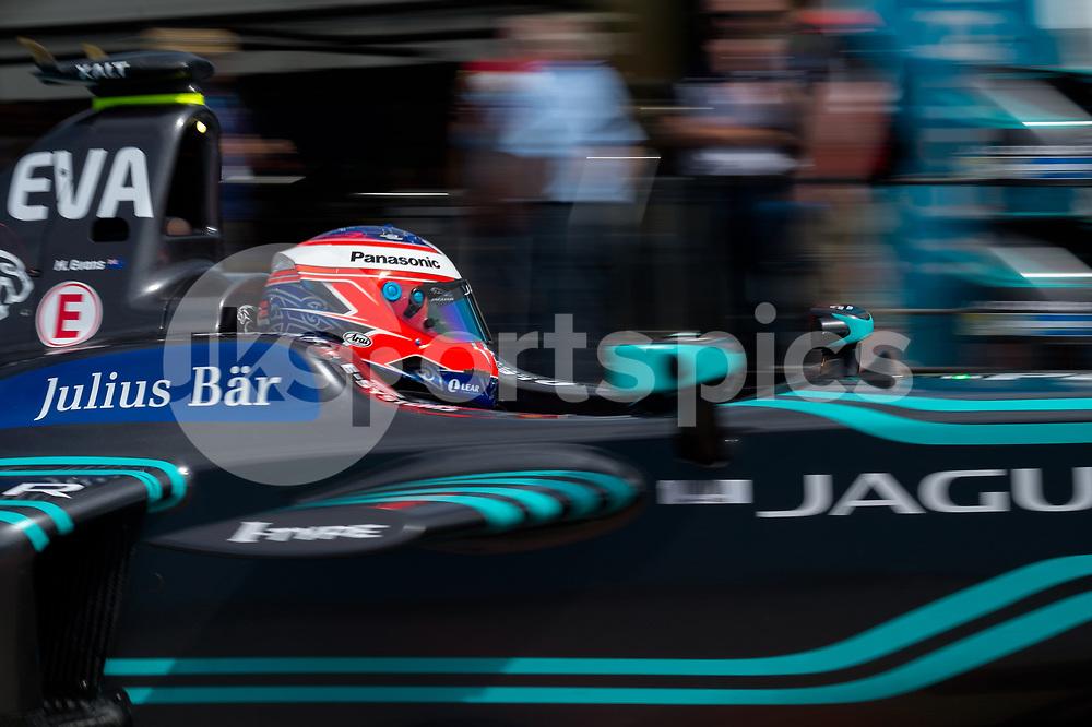 Mitch Evans (NZ) of Jaguar Racing Formula E Team during the Berlin FIA Formula E ePrix 2017 at Tempelhof Airport, Berlin, Germany on 10 June 2017. Photo by Vince Mignott.