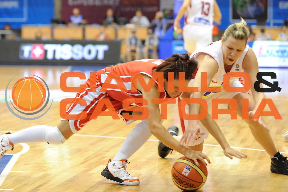 DESCRIZIONE : Liepaja Latvia Lettonia Eurobasket Women 2009 Polonia Ungheria Poland Hungary<br /> GIOCATORE : Agata Gajda<br /> SQUADRA : Polonia Poland<br /> EVENTO : Eurobasket Women 2009 Campionati Europei Donne 2009 <br /> GARA : Polonia Ungheria Poland Hungary<br /> DATA : 09/06/2009 <br /> CATEGORIA : recupero<br /> SPORT : Pallacanestro <br /> AUTORE : Agenzia Ciamillo-Castoria/M.Marchi<br /> Galleria : Eurobasket Women 2009 <br /> Fotonotizia : Liepaja Latvia Lettonia Eurobasket Women 2009 Polonia Ungheria Poland Hungary<br /> Predefinita :