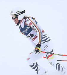 08.02.2019, WM Strecke, Aare, SWE, FIS Weltmeisterschaften Ski Alpin, alpine Kombination, Abfahrt, Damen, im Bild Meike Pfister (GER) // Meike Pfister (GER) reacts after the downhill competition of Alpine combination of the ladie's of FIS Ski World Championships 2019. WM Strecke in Aare, Sweden on 2019/02/08. EXPA Pictures © 2019, PhotoCredit: EXPA/ SM<br /> <br /> *****ATTENTION - OUT of GER*****