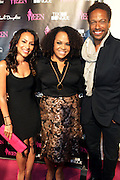 19 November-New York, NY:  (L-R) Valeisha Butterfield-Jones, founder, WEEN(Women in Entertainment Empowerment Networks) Lisa Price, Beauty products Entrepreneur, Carol's Daughter and Actor Gary Dourdan attend the 4th Annual WEEN (Women in Entertainment Empowerment Network) Awards held at Helen Mills Theater on November 19, 2014 in New York City.  (Terrence Jennings)